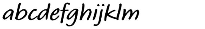 Calliope MVB SemiBold Font LOWERCASE
