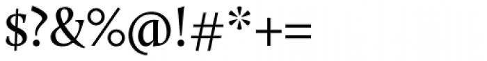 Calluna Regular Font OTHER CHARS