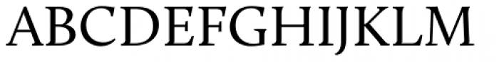 Calluna Regular Font UPPERCASE