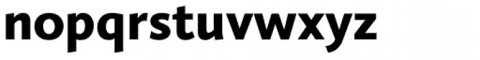 Calluna Sans Black Font LOWERCASE