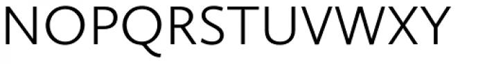 Calluna Sans Light Font UPPERCASE