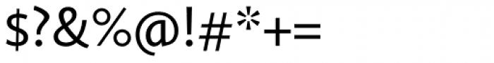Calluna Sans Regular Font OTHER CHARS