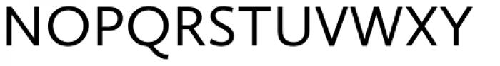 Calluna Sans Regular Font UPPERCASE