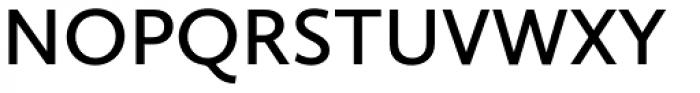 Calluna Sans SemiBold Font UPPERCASE