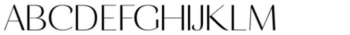 Calma Medium Font UPPERCASE