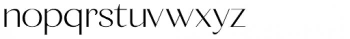 Calma Medium Font LOWERCASE