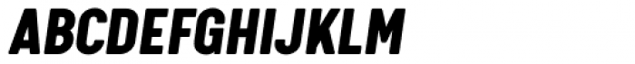 Calps Black Italic Font UPPERCASE