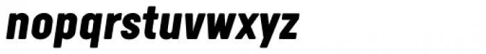 Calps Black Italic Font LOWERCASE