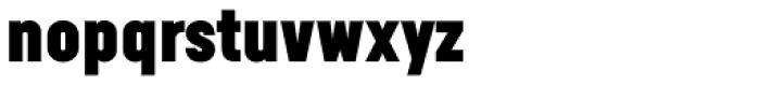 Calps Sans Extra Black Font LOWERCASE