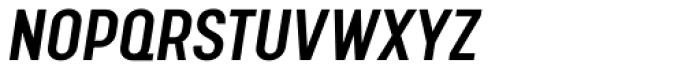 Calps Sans Medium Italic Font UPPERCASE