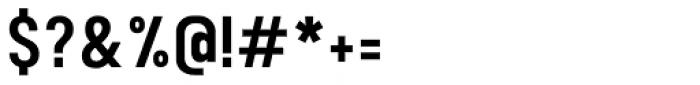 Calps Sans Medium Font OTHER CHARS