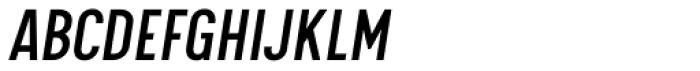 Calps Sans Slim Italic Font UPPERCASE