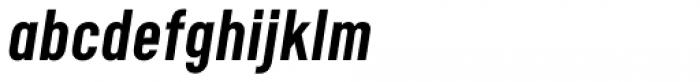 Calps Sans Slim Medium Italic Font LOWERCASE