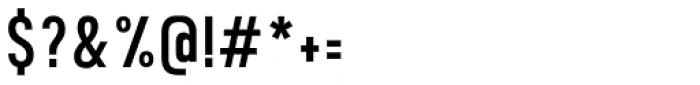 Calps Sans Slim Regular Font OTHER CHARS