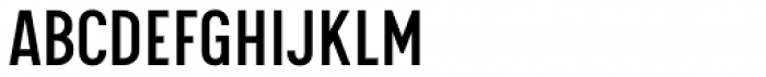 Calps Sans Slim Regular Font UPPERCASE