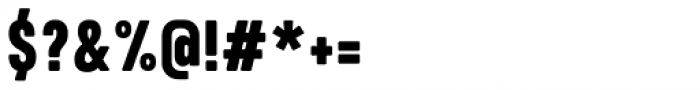 Calps Slim Black Font OTHER CHARS