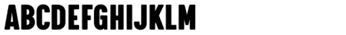 Calps Slim Black Font UPPERCASE