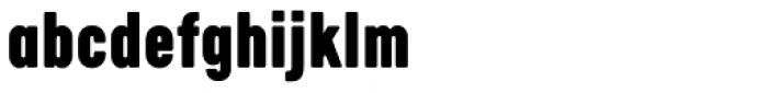 Calps Slim Black Font LOWERCASE