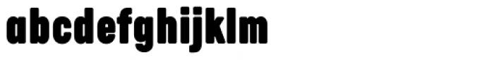 Calps Slim Extra Black Font LOWERCASE