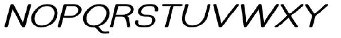 Caluminy Bold Expand Oblique Font UPPERCASE