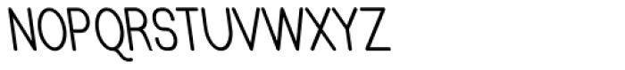 Caluminy Bold Left Compact Font UPPERCASE
