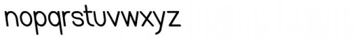 Caluminy Bold Left Compact Font LOWERCASE