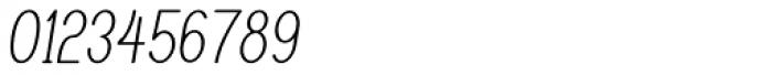 Caluminy Compact Oblique Font OTHER CHARS