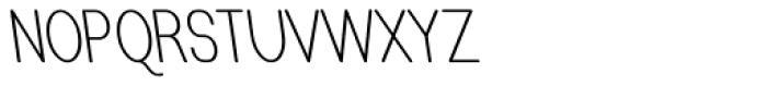 Caluminy Left Compact Font UPPERCASE