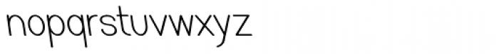 Caluminy Left Compact Font LOWERCASE
