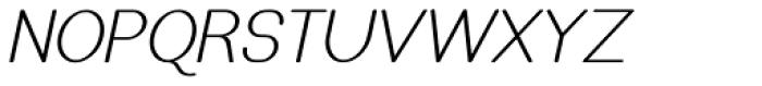 Caluminy Oblique Font UPPERCASE