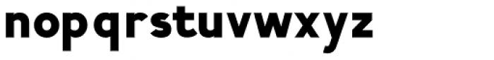 Calvin Black Font LOWERCASE