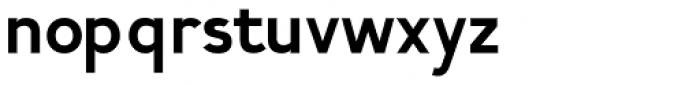 Calvin Bold Font LOWERCASE