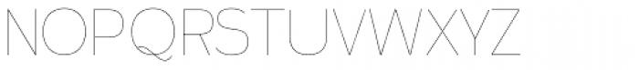 Calvin Hairline Font UPPERCASE