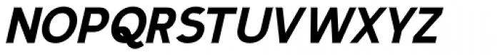 Calvin Heavy Italic Font UPPERCASE