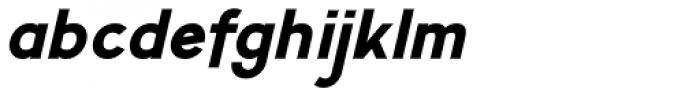 Calvin Heavy Italic Font LOWERCASE