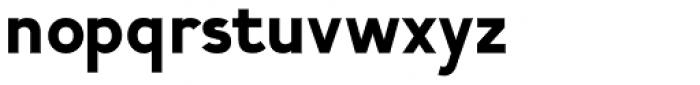 Calvin Heavy Font LOWERCASE