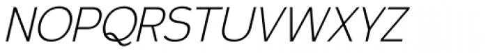 Calvin Light Italic Font UPPERCASE