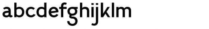 Calvin Medium Font LOWERCASE