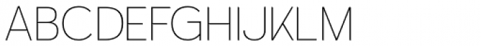 Calvin Ultralight Font UPPERCASE
