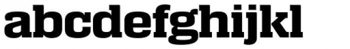 Calypso E Bold Font LOWERCASE