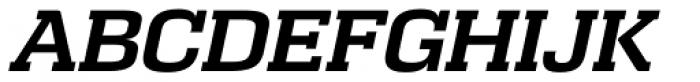 Calypso E DemiBold Italic Font UPPERCASE