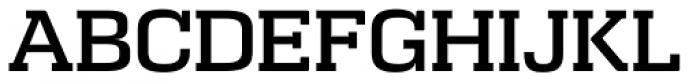 Calypso E Medium Font UPPERCASE