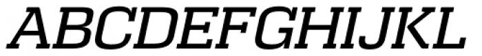Calypso E Normal Italic Font UPPERCASE