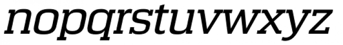 Calypso E Normal Italic Font LOWERCASE