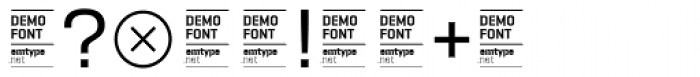 Camber DEMO Regular Font OTHER CHARS