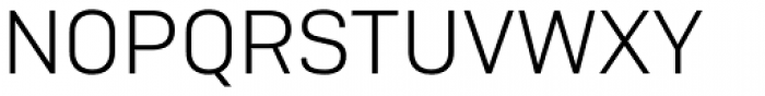 Camber Light Font UPPERCASE