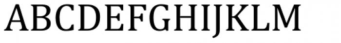 Cambria Font UPPERCASE
