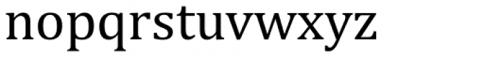 Cambria Font LOWERCASE