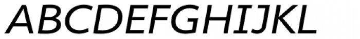 Cambridge Exp Italic Font UPPERCASE