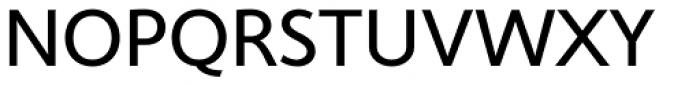 Cambridge Regular Font UPPERCASE